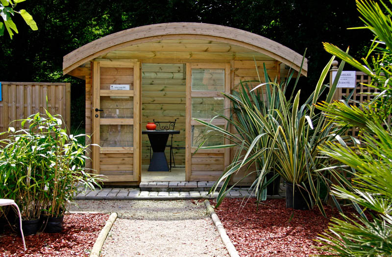 Quel mat riau choisir pour un abris de jardin for Declaration de travaux abri de jardin