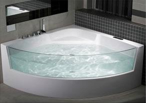 Comment choisir une baignoire pratique spacieuse et design - Baignoire d angle petite dimension ...