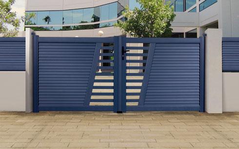 bien choisir son portail et sa cl ture en fonction des diff rents mat riaux. Black Bedroom Furniture Sets. Home Design Ideas