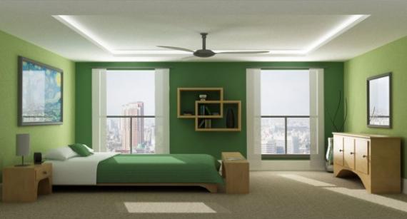 quelle d coration pour sa maison - Chambre Vert