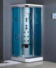 Comment choisir une douche pratique spacieuse et design - Cabine de douche hydromassante avec radio ...