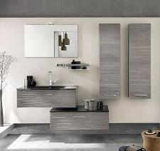 Les meubles de salle de bain bien choisir les meubles de for Meuble haut salle de bain gris
