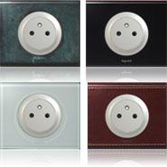 Les diff rentes prises lectriques pour la maison - Cache pour prise electrique ...