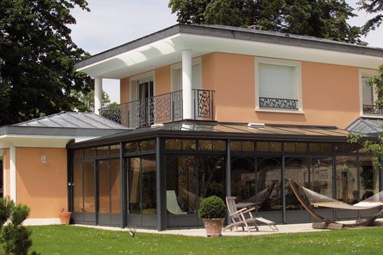 prix des verandas de maison free prix veranda m d une v randa en bois le tail des tarifs c. Black Bedroom Furniture Sets. Home Design Ideas