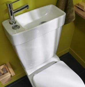 Comment bien choisir les w c ils ont norm ment volu au fil du temps - Toilette avec lave main integre ...